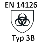 Microbiological harzards type 3 (EN 14126)