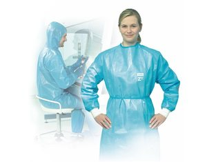 Protective clothing for cytostatics + biological substances