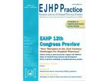 EJHP - European Journal of Hospital Pharmacy