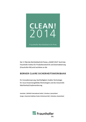 Sicherheitswerkbank Claire pro | Berner Safety