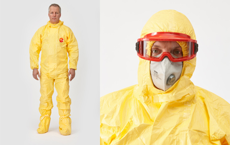 Schutzoverall DuPont Tychem C | Berner Safety