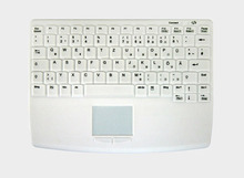 Disinfectant-resistant wireless keyboard for safety cabinets