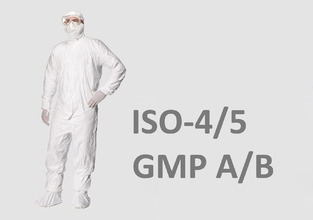 PPE certified cleanroom clothing