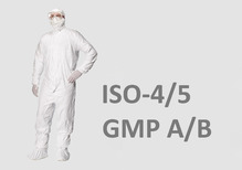Cleanroom protective clothing Tyvek Isoclean