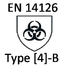 Protective partial clothing against infectious agent