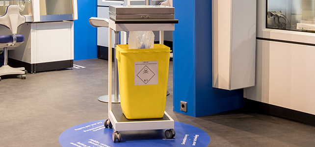 analytica 2018 - Waste sealing system SealSafe