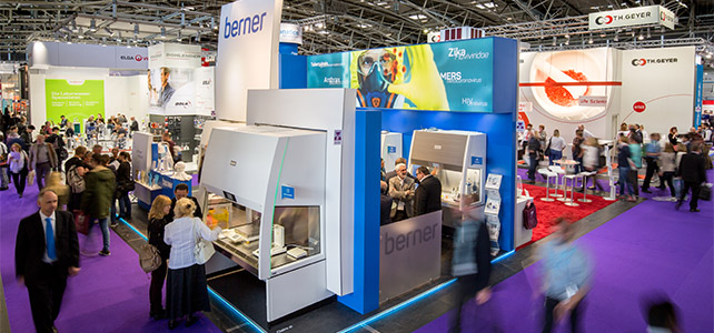 analytica 2018 - Berner Stand