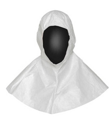 DuPont Tyvek IsoClean hood for cleanrooms