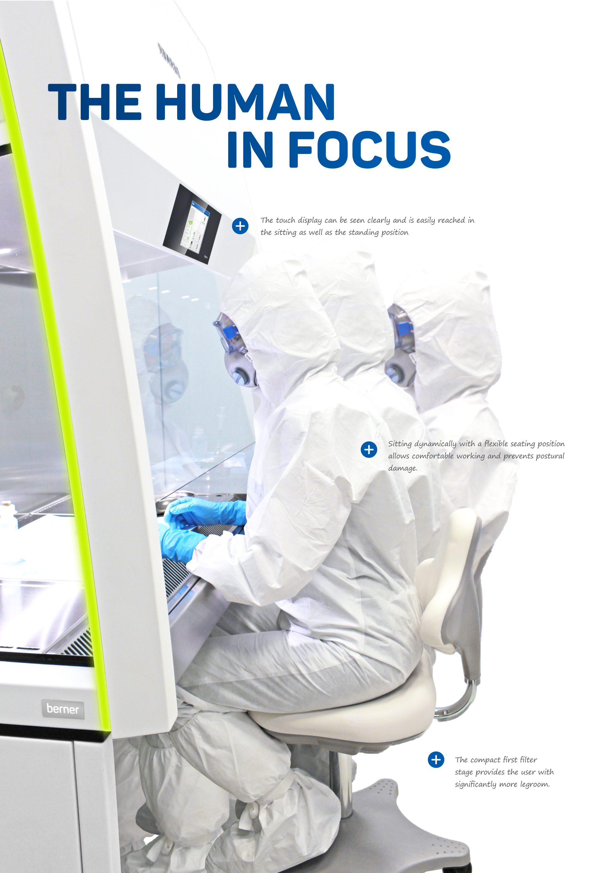 The human in focus - Ergonomics