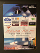 Poster Labor-Impuls-Forum 2019